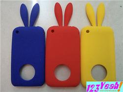 Ảnh số 21: Ốp silicon tai thỏ xinh xắn cho 3G.3GS OV14 - Giá: 90.000