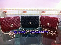 Ảnh số 33: Chanel mini, form đẹp,chất cực đẹp. 260k.  Màu sắc : đỏ đun, đen, xanh tím than, hồng. - Giá: 260.000
