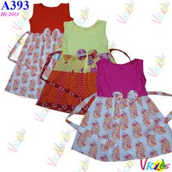 Ảnh số 16: Váy thân cotton nơ ngực Forsun ,r/7 , bé 1t-8t - Giá: 1.100