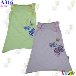 Ảnh số 79: Áo váy thêu bướm ForSun R/7 ,bé 1t-8t - Giá: 1.100