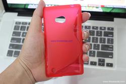 Ảnh số 4: - Ốp Lưng Nokia LUMIA 720 Silicon S-LINE - Giá: 70.000