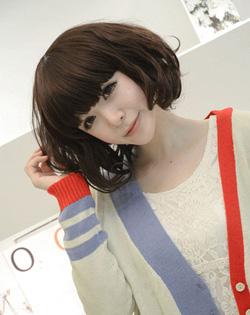 Ảnh số 85: Korea tóc ngắn xoăn nhẹ phồng - Giá: 700.000