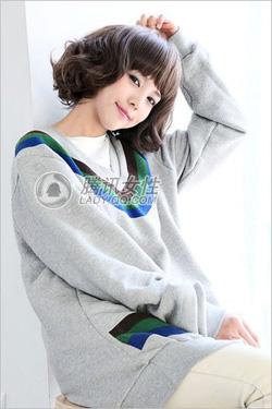 Ảnh số 91: Korea tóc ngăn xoăn nhẹ - Giá: 700.000