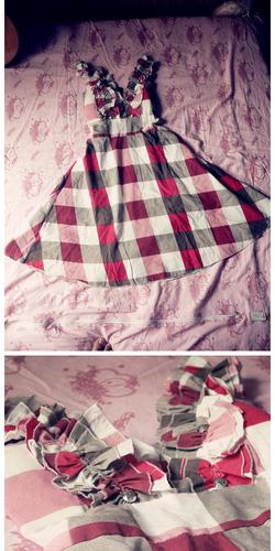 Ảnh số 10: váy caro nguyen mac - Giá: 80.000