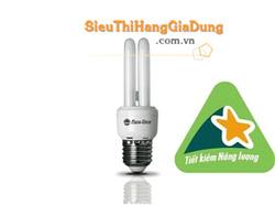 Ảnh số 33: Đèn tiết kiệm điện đui xoáy dạng chữ U RẠNG ĐÔNG CFL 2UT3 5W - Giá: 28.000