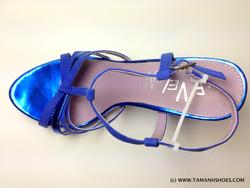 Ảnh số 26: Sandal cao gót Việt Nam xuất khẩu hiệu Leveline X43 size39 form 38 đi vừa - Giá: 560.000