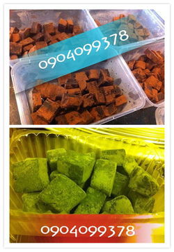 Ảnh số 3: Mix 2 vị cacao-trà xanh - Giá: 130.000