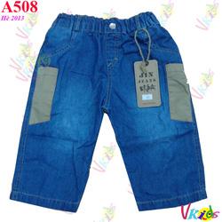 Ảnh số 25: 508-Quần lửng Jean nam to 420 r/8 - Giá: 1.100