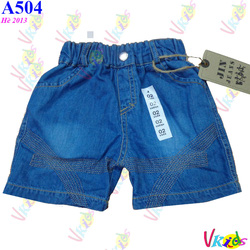 Ảnh số 27: 504-Sooc jean ngắn bé 427,r/8 - Giá: 1.100