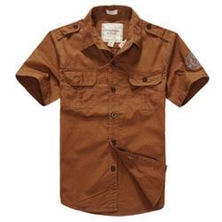 Ảnh số 75: áo sơ mi kaki - Giá: 400.000