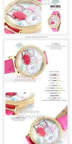 Ảnh số 2: Đồng Hồ 3D Hàn Quốc - Giá: 680.000