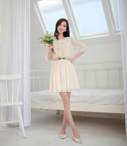 Ảnh số 11: Váy kèm đai - Giá: 245.000
