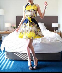 Ảnh số 84: Váy xếp nếp kèm đai. Có 2 loại: 210k và 225k - Giá: 210.000
