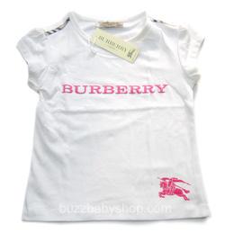 Ảnh số 1: Áo thun Burberry, size đại 8>12 tuổi - Giá: 1.000