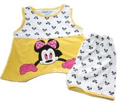 Ảnh số 27: Bộ thun OshKosh Mickey nơ, 1>8tuổi - Giá: 2.000