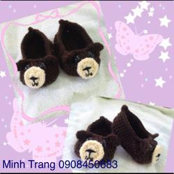 Ảnh số 13: Giày len con gấu - Giá: 50.000