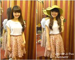 Ảnh số 29: Chân váy Made in Thái lan họa tiết hoa - Giá: 230.000