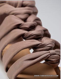Ảnh số 79: Sandal nữ Việt Nam Xuất Khẩu hiệu Bershka X14 size37 - Giá: 370.000