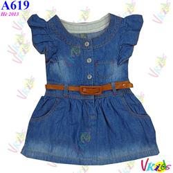 Ảnh số 55: 619 - Váy jean cánh tiên zara R/7 - Giá: 1.100