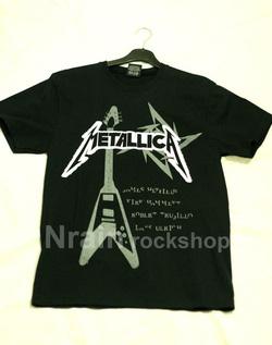 Ảnh số 41: áo rock Metallica - Giá: 160.000