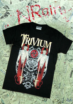 Ảnh số 45: áo rock Trivium - Giá: 220.000