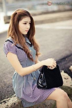 Ảnh số 3: Đầm móc câu cổ lá sen korea -290k chất liệu vải poly dày cao cấp - Giá: 290.000