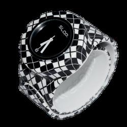 Ảnh số 15: Slap Watch Argyle Black / WhiteSlap Watch Argyle Black / White - Giá: 660.000