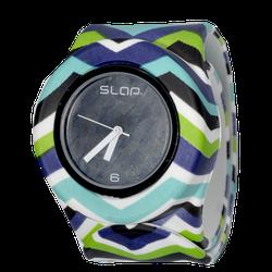 Ảnh số 22: Slap Watch Chevron Blue Green - 660.000 VNĐ - Giá: 660.000