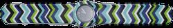 Ảnh số 23: Slap Watch Chevron Blue Green - 660.000 VNĐ - Giá: 660.000