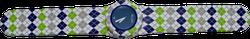Ảnh số 51: Slap Watch Argyle Green/Blue - 660.000 VNĐ - Giá: 660.000