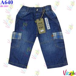 Ảnh số 87: 640 - Quần lửng jean nam 461/8 - Giá: 1.100