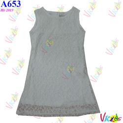 Ảnh số 88: 653 - Váy ren zara 2-11 r/10 - Giá: 1.100
