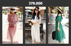 Ảnh số 23: Đầm maxi bó eo - Giá: 380.000