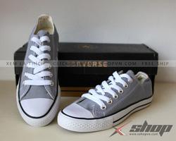 Ảnh số 5: Giày Classic vải ghi xám - Giá: 199.000