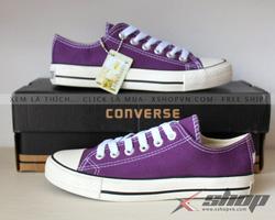 Ảnh số 92: Giày Converse Classic Tím - Giá: 199.000