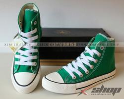 Ảnh số 89: Giày Converse Classic cao cổ xanh lá - Giá: 220.000