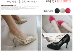 Ảnh số 4: giầy cao gót Hàn quốc - Giá: 30.000