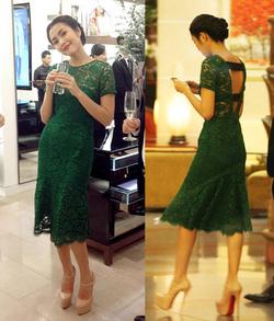 Ảnh số 10: Váy ren dự tiệc LADYROY-5114 - Giá: 490.000