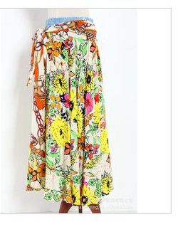 Ảnh số 89: chân váy vải lanh dầy đẹp - Giá: 160.000