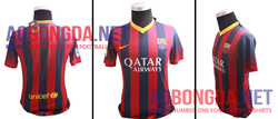 Ảnh số 22: Barca home fake 1 2013- 2014 - Giá: 200.000