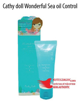 Ảnh số 18: Cathy doll Wonderful Sea oil Control Calcium Cream Pack - Giá: 185.000