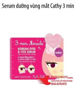 Ảnh số 34: Serum dưỡng vùng mắt Cathy 3 min miracle korea eye B-tox - Giá: 180.000