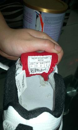 Ảnh số 5: Giày trẻ em Wilson 4-5 tuổi - Giá: 120.000