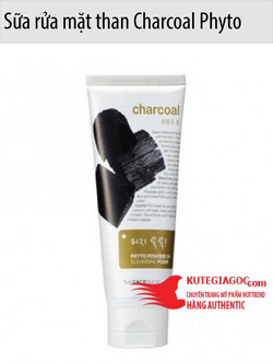 Ảnh số 64: Sữa rửa mặt than Charcoal Phyto Powder In Cleansing Foam The face shop - Giá: 137.000