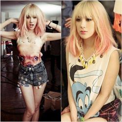 Ảnh số 59: Phấn nhuộm tóc Highlight Korea - Giá: 40.000