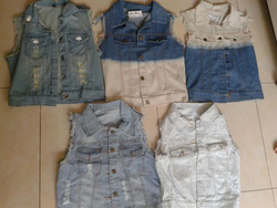 Ảnh số 1: gile jeans - Giá: 150.000
