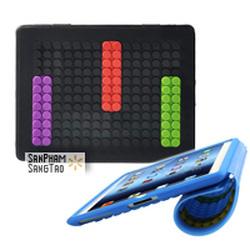 Ảnh số 16: Chiếc vỏ bảo vệ iPad đặc biệt theo phong cách trò chơi xếp hình LEGO với những công năng và ưu điểm thú vị sẽ mang lại sự thoái mái, tiện lợi cho ngườ - Giá: 245.000