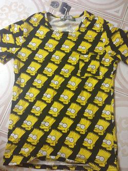 Ảnh số 1: T-shirt simpson đen - Giá: 180.000