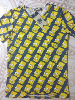 Ảnh số 10: T-shirt simpson xanh - Giá: 180.000