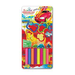 Ảnh số 9: Đất sét nặn SmileKids 8 màu SK-800VH  8 màu sắc 4 khuôn mẫu Xuất xứ Thái lan, 3 tuổi + Giá bán: 26.500 VNĐ - Giá: 27.000